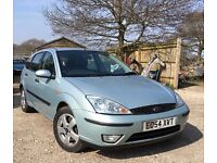 2004 Ford Focus Edge TDCi with Brand new MOT