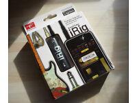 AmpliTube iRig Bass & Guitar for iPhone/iPod/iPad, brand new sealed box, unused.