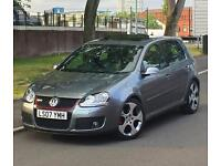 2007 07 REG VOLKSWAGEN GOLF GTI TFSI 2.0 DSG S-A WINTER PACK RARE SPEC WITH LOW MILEAGE 1 YEAR MOT