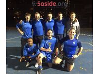 Individual players wanted for 5-a-side football league in Battersea on Tuesdays
