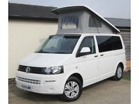 2012 VW T5 Camper - One Owner, FSH, 47,500 Miles - 4-berth, SWB, Pop-Top