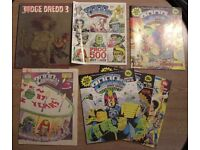 Comics - 2000 AD, Judge Dredd, DC, Marvel