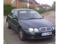 ROVER 25 *11 MONTHS MOT*READY TO DRIVE*LOW MILEAGE*