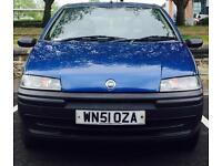 2002 (JAN02) FIAT 1.2 PUNTO - FULL SERVICE HISTORY - 5 DOORS - PETROL - MANUAL - BLUE