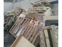 Free firewood broken pallets etc