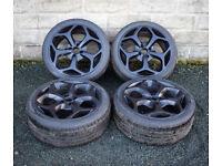 "18"" Alloy Wheels and 4x108 4 stud Ford Focus MK1 Cougar alloys - wheels"