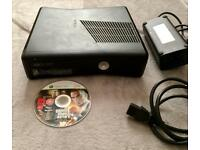 XBOX 360 BLACK ELITE 120GB WITH GTA £45