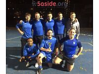 Spaces available for individuals in Battersea Thursday 5-a-side leagues!