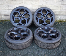 "18"" Alloy Wheels and 4x108 4 stud Ford Focus MK1 Cougar alloys - wheels"