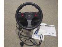 Formula charger racing wheel by thrustmaster motorsports computer game wheel