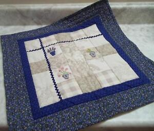 Cushion Cover  - handmade - embroidery and buttons