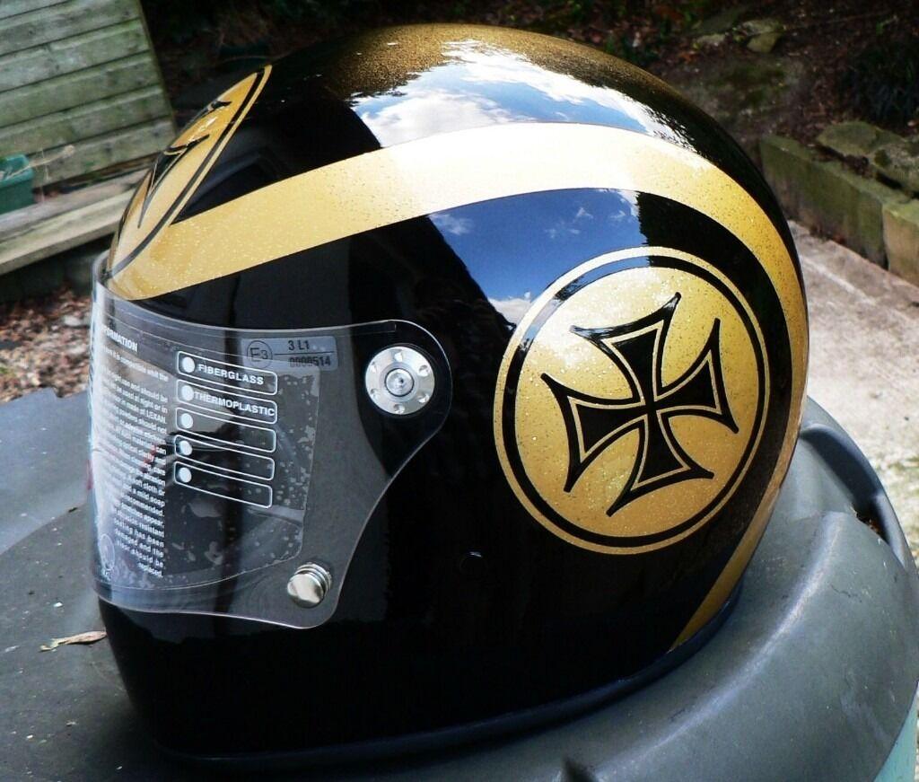 Large Custom Painted Premier Trophy Helmet Phil Read