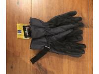Thinsulate Black Ski Gloves