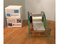 Procare Clog Foil Dispenser Perspex & 3 rolls of Aluminium Foil