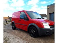 Ford Transit Connect (Red)
