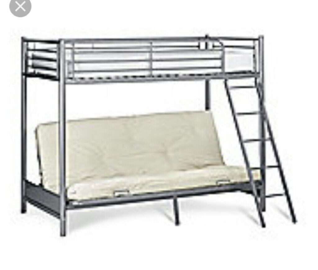 High Sleeper With Double Futon In