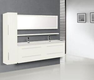 63-inch Vanity, White Colour, NEW