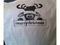 christmas tshirt rudolph #merrychristmas