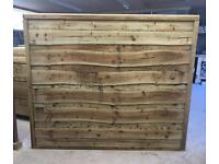 Wooden/ Timber Wayneylap Heavy Duty Fence Panels 🌲