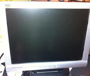 "Viewsonic, 16"" monitor, 90% new, $ 20"