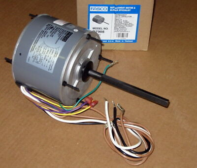 D7908 Fasco 13 Hp 1075 Rpm Ac Air Conditioner Condenser Fan Motor Tenv