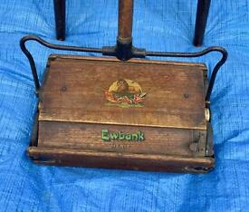 Vintage Ewbank Carpet Sweeper