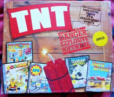 TNT Compilation(Domark)-AMIGA-Hard Drivin+Toobin+Xybots+APB+Dragon Spirit-3 disk