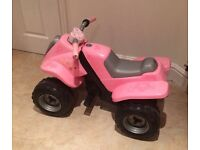 Smoby rechargeable kids 6V quad bike.
