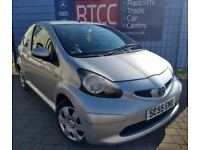 2005 (55 reg), Toyota Aygo 1.0 VVT-i + 3dr Hatchback, AA COVER & AU WARRANTY INCLUDED, £1,695 ono