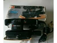 Black and Decker Sander 5 speed