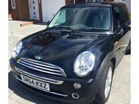 Very well looked after Mini Cooper Automatic in Black with very low mileage of 49750