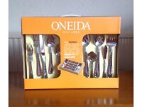 Oneida 65 piece Canteen of Cutlery