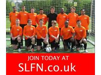 2 attacking midfielders needed for 11 aside football team in South london. Join team now. 191h2