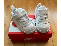 Kids Children's White Nike Trainers Size 6.5
