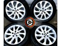 "16"" Genuine Seat alloys 5x112, excellent cond, excellent tyres. VW, Skoda."