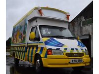 Hard Ice Cream Van for sale