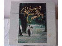 Relaxing With Country - Boxed Set of 8 LPs