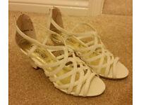 Heeled Sandals. Size 4