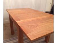 Oak Dining Table - Extendable