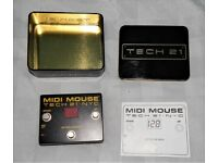 Tech 21 midi mouse boxed as new.