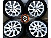 "16"" Genuine Seat alloys 5x112, excellent cond, excellent tyres. VW, Skoda."