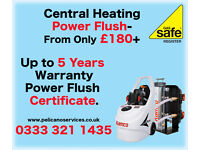 Power Flush From £180 Up to 5 Years Warranty Power Flush Certificate Plumbing Gas Safe Register