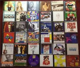 36 CDs for 60 pence each. 10 for £5.