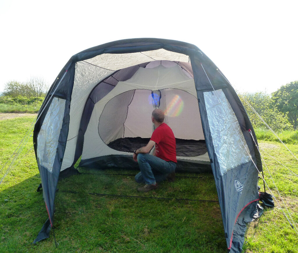 EUROHIKE STOWE FOUR MAN TENT WITH TWO BEDROOMS  sc 1 st  Gumtree & EUROHIKE STOWE FOUR MAN TENT WITH TWO BEDROOMS | in Church ...