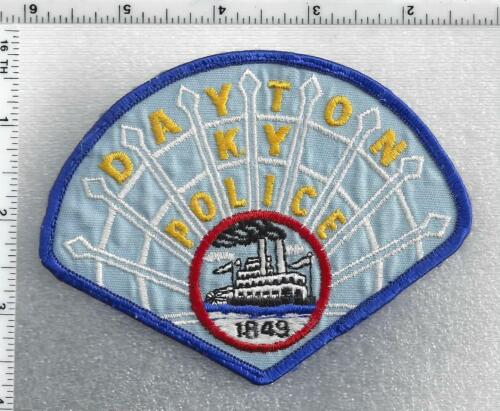 Dayton Police (Kentucky) 2nd Issue Shoulder Patch