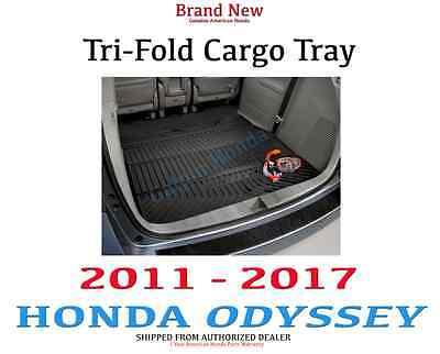 Honda Odyssey Cargo Tray (Genuine OEM Honda Odyssey Folding Cargo Mat 2011-2017    (08U45-TK8-100A) )