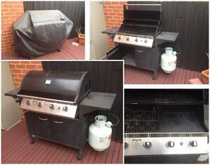 4-Burner Propane BBQ Grill Bentleigh Glen Eira Area Preview