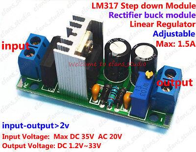Acdc To Dc Converter Adjustable Voltage Regulator Power Supply Module 5v 9v 12v