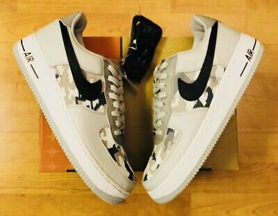 Nike Air Force 1 Gray Camo Banned 1 Yeezy350 Static Chicago1 Off White OVO Sz 10