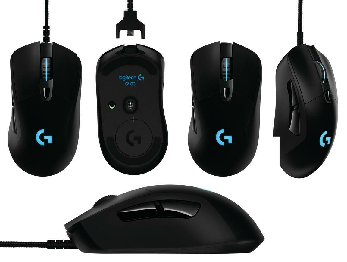 logitech g403 prodigy wireless optical gaming mouse 97855121868 ebay. Black Bedroom Furniture Sets. Home Design Ideas